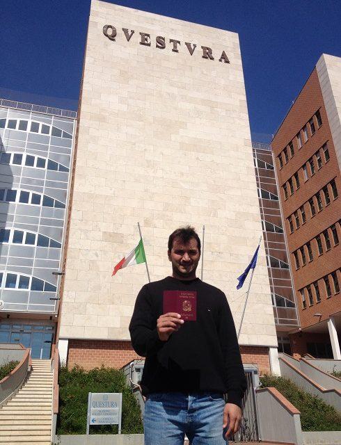 Cheguei na Itália e após exatos um mês consegui a cidadania e o passaporte, inacreditável!!!!!